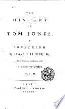 THE HISTORY OF TOM JONES, A FOUNDLING.