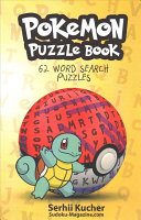 Pokemon Puzzle Book   62 Word Search Puzzles