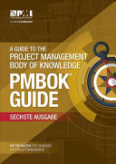 A Guide to the Project Management Body of Knowledge  PMBOK   Guide  Sixth Edition  GERMAN