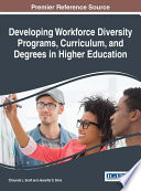 Developing Workforce Diversity Programs  Curriculum  and Degrees in Higher Education