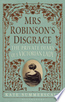 Mrs Robinson s Disgrace Book PDF