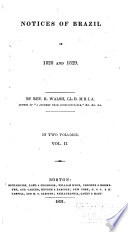 Notices of Brazil in 1828 and 1829