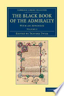 The Black Book of the Admiralty Medieval Old French Manuscript Containing A