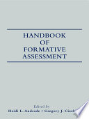 Handbook of Formative Assessment
