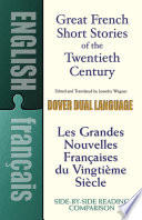 Grandes Nouvelles Françaises Du Vingtième Siècle