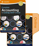 Complete Accounting for Cambridge O Level and IGCSE Student Book and Online Book