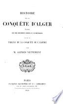 Histoire de la conquête d'Alger