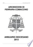 Annuario Diocesano 2013  Arcidiocesi di Ferrara Comacchio