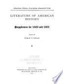 Literature of American History
