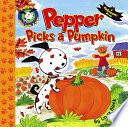 Pepper Picks a Pumpkin
