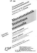 Monatsstatistik
