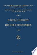 Judicial Reports / Recueils judiciaires, 1998 (2 vols)