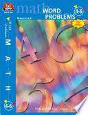 Word Problems   Grades 4 6  eBook