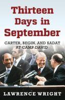 Thirteen Days in September Of The Thirteen Days Of The 1978