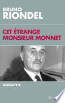 Cet   trange Monsieur Monnet