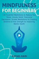 Mindfulness For Beginners : relaxed and at peace! practicing...