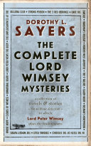 The Complete Lord Peter Wimsey Mysteries Book