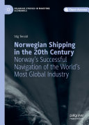 Book Norwegian Shipping in the 20th Century