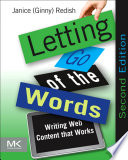Letting Go Of The Words book