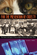 For the Prevention of Cruelty