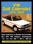 VW Golf Cabriolet Road Test Portfolio 1979-2002