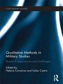 Qualitative Methods in Military Studies