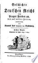 D  Franz Dominicus H  berlins Neueste teutsche Reichs Geschichte vom Anfange des schmalkaldischen Krieges bis auf unsere Zeiten