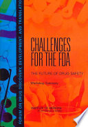 Challenges For The Fda  book