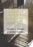 Effective Teaching in Correctional Settings