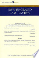 New England Law Review  Volume 50  Number 2   Winter 2016