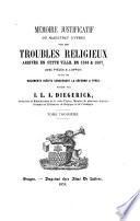 Documents du XVIe Siecle