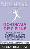 Summary  No Drama Discipline