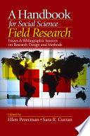 A Handbook For Social Science Field Research book