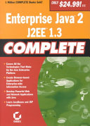 Enterprise Java2  J2EE1 3 Complete