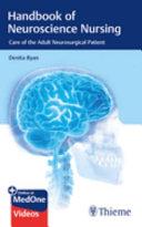 Handbook of Neuroscience Nursing