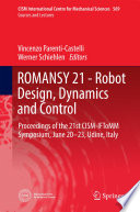 ROMANSY 21   Robot Design  Dynamics and Control