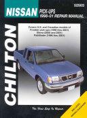 Chilton S Nissan Pick Ups 1998 01 Repair Manual
