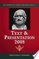 Text Presentation 2008