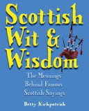 Scottish Wit and Wisdom
