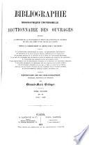 Bibliographie biographique universelle