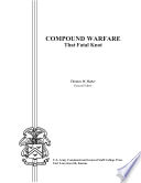 Compound Warfare  That Fatal Knot