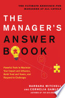 The Manager s Answer Book