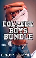 College Boys Bundle Volume 4  M M 3 Story Collection
