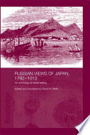 Russian Views of Japan  1792 1913