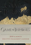 Game of Thrones 2017 2018 16 Month Diary