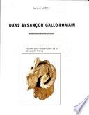 illustration du livre Dans Besançon gallo-romain--