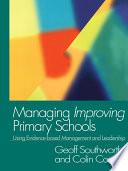Managing Improving Primary Schools