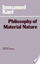 The Philosophy of Material Nature