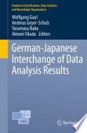 German Japanese Interchange of Data Analysis Results