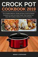 Crock Pot Cookbook 2019